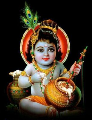 lord little krishna images