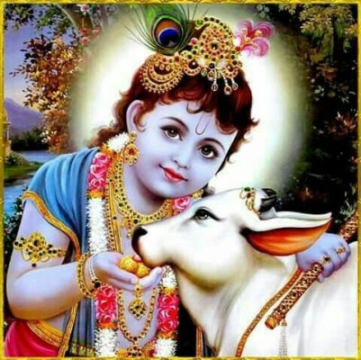 Cute lord little krishna images