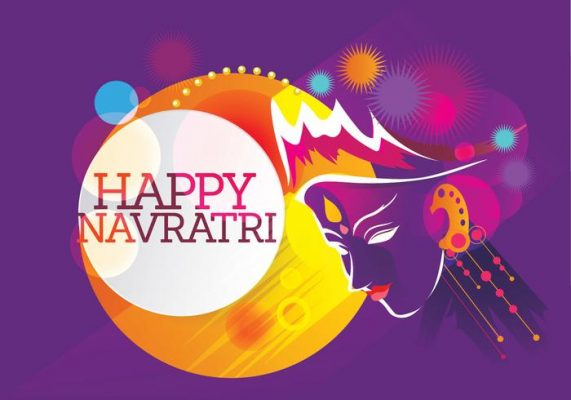 Happy Navratri Creative Photo Poster Images
